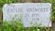 "Hester Ann ""Matilda"" <I>House</I> Ainsworth"