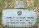 Andrew Jackson Stone