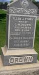 Ellen Jane <I>Perry</I> Drown