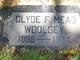 Clyde Frank Mead Woolsey