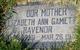 Elizabeth Ann <I>Gamett</I> Ravenor
