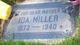 Ida Hulda <I>Linde</I> Miller
