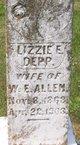 """Elizabeth Eola """"Lizzie"""" <I>Depp</I> Allen"""