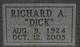 """Richard Arthur """"Dick"""" Ashton, Sr"""