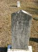 Profile photo:  Barnie Blackmon