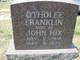 Otholee Ruby <I>Franklin</I> Hix