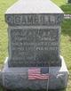 Profile photo:  Benjamin Franklin Gambill