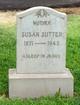 "Suzanna ""Susan"" <I>Krob</I> Sutter"