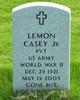 Lemon A Casey, Jr