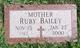 Ruby Josephine <I>Matthews</I> Bailey
