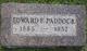 Edward Francis Paddock