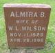 Almira <I>Ray</I> Wilson