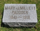 Mary Jane <I>Millett</I> Paddock