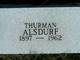 Thurman A. Alsdurf