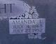 Amanda Lavannia <I>Dixon</I> Bright