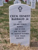 Cecil Ernest Barbaud, Jr