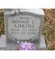 Minnie L Adkins