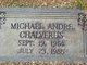 Profile photo:  Michael Andre Chalverus