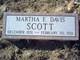 Profile photo:  Martha <I>Davis</I> Scott