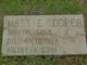 """Martha """"Mattie"""" <I>Flynn</I> Cooper"""