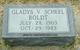 Profile photo:  Gladys V. <I>Benson</I> Boldt