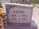 Rachel <I>Deschamp</I> Cuevas