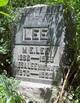 """Louisa """"Wesa"""" <I>Gibbons</I> Lee"""