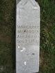 Margaret <I>Arick</I> McFadden
