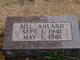 "Profile photo:  Clarence William ""Bill"" Ahland, Jr"
