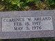 Profile photo:  Clarence W Ahland, Sr