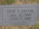 Dixie Dale <I>Hart</I> Bauch