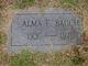 Alma F. <I>Schmidt</I> Bauch