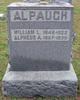 Profile photo:  Alpheus A. Alpaugh