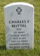 Profile photo: Sgt Charles Frederick Beittel