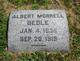 Profile photo:  Albert Morrell Bedle
