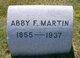 Profile photo:  Abby F. Martin