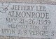 Profile photo:  Jeffery Lee Almonrode