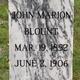 John Marion Blount