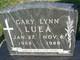 Profile photo:  Gary Lynn Luea