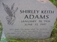 Profile photo:  Shirley <I>Keith</I> Adams