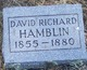 Profile photo:  David Richard Hamblin