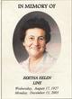 Bertha Helen <I>Shortnacy</I> Line
