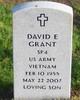 """David E """"Kleen"""" Grant"""