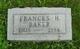 Frances H Baker