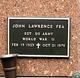 Sgt John Lawrence Fea