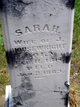 "Sarah E. ""Sally"" <I>Skelton</I> Housewright"