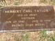 Herbert Carl Taylor