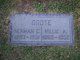 """Mildred A """"Millie"""" <I>Pearson</I> Grote"""