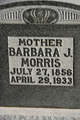 Barbara Johnson <I>Huffman</I> Morris