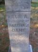 "William Alfred ""Willie"" Dane"
